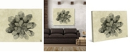 "Creative Gallery Neutral Succulent Cactus Watercolor 24"" x 20"" Canvas Wall Art Print"