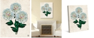 """Creative Gallery Dried Big White Carnation on Paper-pattern 20"""" x 16"""" Canvas Wall Art Print"""