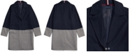 Tommy Hilfiger Women's Wool Coat With Hidden Snap Closure