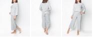 MOOD Pajamas Mood Pajama Stylish Homewear- Striped Capri Pajama Set