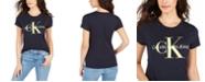 Calvin Klein Jeans Monogram Logo-Graphic T-Shirt