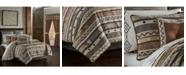 J Queen New York J Queen Timber Linen King 4 Piece Comforter Set