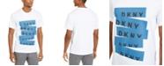 DKNY Men's Blocked Repeat Logo T-Shirt