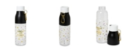 """Tri-Coastal Design Plastic 750ml """"Sweat Now, Shine Later"""" Water Bottle with Carabiner"""