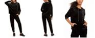 Calvin Klein Shine Velour Hoodie & Joggers