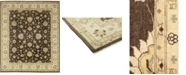 """Timeless Rug Designs CLOSEOUT! One of a Kind OOAK83 Brown 8'3"""" x 10'1"""" Area Rug"""