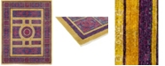"Timeless Rug Designs CLOSEOUT! One of a Kind OOAK223 Fuchsia 8'1"" x 10'1"" Area Rug"
