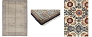 """Timeless Rug Designs CLOSEOUT! One of a Kind OOAK256 Cream 7'2"""" x 10'3"""" Area Rug"""