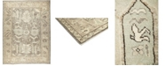 """Timeless Rug Designs CLOSEOUT! One of a Kind OOAK614 Mocha 8'10"""" x 11'10"""" Area Rug"""