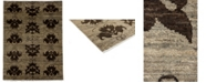 "Timeless Rug Designs CLOSEOUT! One of a Kind OOAK3809 Hazelnut 4'10"" x 6'5"" Area Rug"