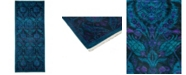 """Timeless Rug Designs One of a Kind OOAK3299 Turquoise 4'1"""" x 9'8"""" Runner Rug"""