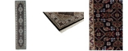 """Timeless Rug Designs CLOSEOUT! One of a Kind OOAK2638 Charcoal 2'7"""" x 12'1"""" Runner Rug"""