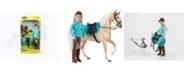 BREYER Classics Heather English Horse and Rider Set