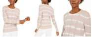 INC International Concepts INC Cotton Tie-Dye Pullover Top, Created for Macy's