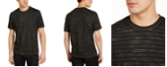 INC International Concepts INC Men's Striped Burnout T-Shirt, Created For Macy's