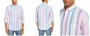 Club Room Men's Joey Stripe Oxford Shirt, Created For Macy's
