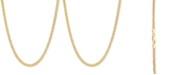"""Giani Bernini Wheat Link 24"""" Chain Necklace in 18k Gold-Plated Sterling Silver"""