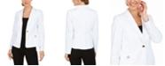 Calvin Klein Single-Button Grommet Blazer