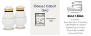 Noritake Odessa Cobalt Gold Salt & Pepper