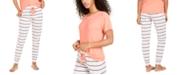 Jenni Printed Pajama Jogger Pants, Created For Macy's
