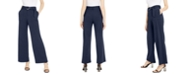 INC International Concepts INC Belted Wide-Leg Utility Pants, Created for Macy's