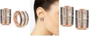 Le Vian Exotics® Multi-Row Diamond Hoop Earrings (1-3/8 ct. t.w.) in 14k Rose Gold