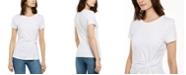 INC International Concepts INC Ponté-Knit Twist Top, Created for Macy's