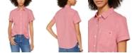 Tommy Hilfiger Gingham Camp Shirt