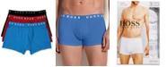 Hugo Boss BOSS Men's Underwear, Cotton Trunk 3 Pack
