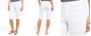 Style & Co Cuffed Skimmer Denim Shorts, Created for Macy's
