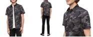 Calvin Klein Jeans Calvin Klein Men's Short Sleeve Camo Print Shirt