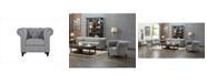 Us Pride Furniture Teressa Chesterfield Chair