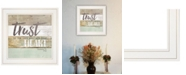 Trendy Decor 4U Trendy Decor 4u Trust in the Lord by Marla Rae, Ready to Hang Framed Print Collection