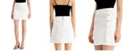 INC International Concepts INC Mini Denim Sailor Skirt, Created for Macy's
