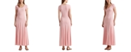 Lauren Ralph Lauren Cotton-Blend Maxi Dress
