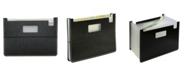 C-Line Modern Metallic 13-Pocket Horizontal Stand-Up Expanding File