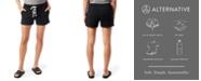 Alternative Apparel Lounge Burnout French Women's Terry Shorts