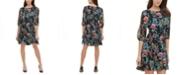 Tommy Hilfiger Tommy Hilfiger Floral Fit & Flare Dress