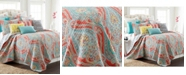 Levtex Greenwich Reversible King Quilt Set