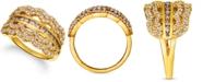 Le Vian Chocolate Diamond (3/8 ct. t.w.) & Nude Diamond (5/8 ct. t.w.) Ring in 14k Gold