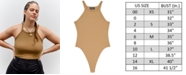 Danielle Bernstein Rib-Knit Bodysuit, Created for Macy's