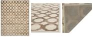 "Martha Stewart Collection MSR74302 Slate 3'3"" x 5'3"" Area Rug"