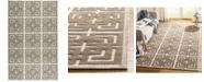 Martha Stewart Collection Vermont MSR2558A Ivory 4' x 6' Area Rug