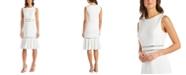 R & M Richards Petite Embellished Fit & Flare Dress