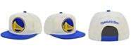 Mitchell & Ness Golden State Warriors Natural XL Snapback Cap