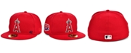 New Era Men's Los Angeles Angels Jackie Robinson 50th Patch 59FIFTY-FITTED Cap