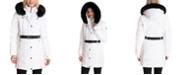 Michael Kors Belted Faux-Fur-Trim Hooded Puffer Coat ...