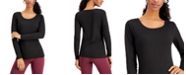 32 Degrees Base Layer Scoop-Neck Top