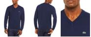 Lacoste Men's V-Neck Cotton Sweater