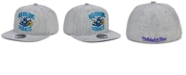 Mitchell & Ness New Orleans Hornets Hardwood Classic Team Heather Fitted Cap